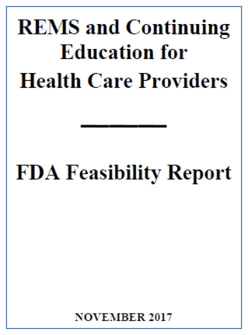 FDA REMS Report